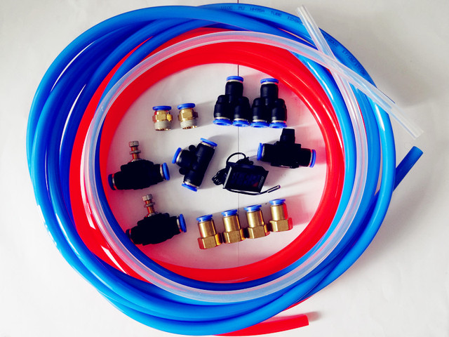 Free Shipping  Homebrew One Set Of Cooling Water System For Home Brewing,Pneumatic Parts And Hoses