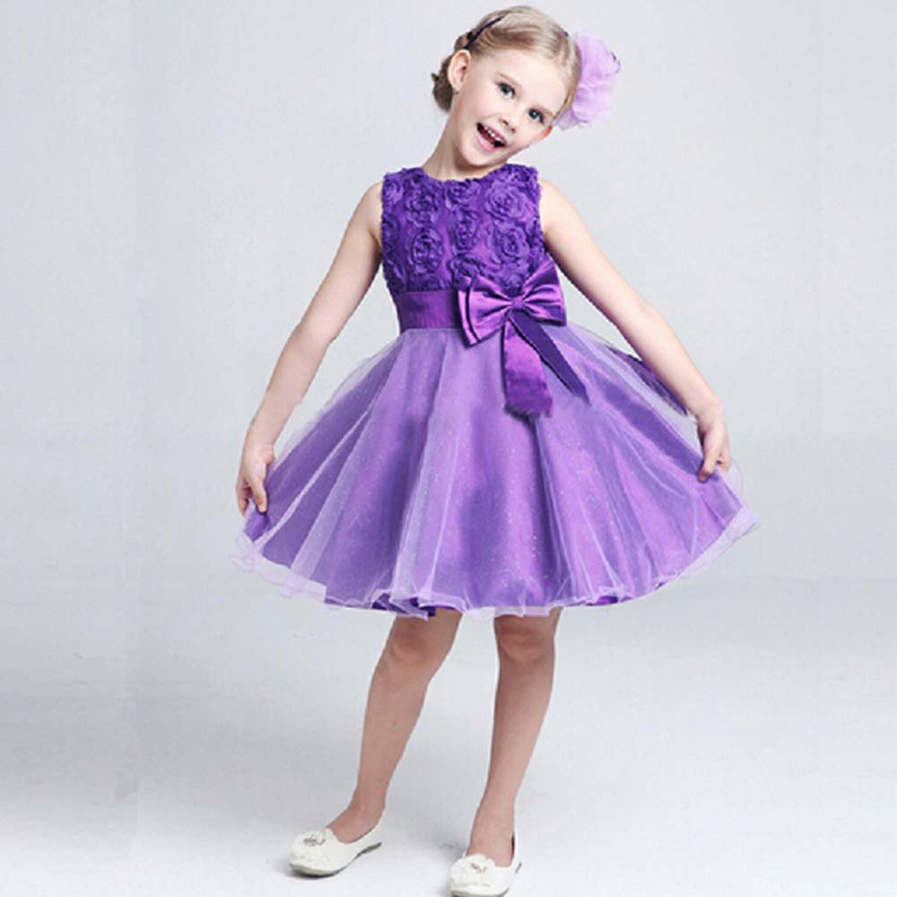 Party birthday wedding princess toddler baby girls christmas clothes