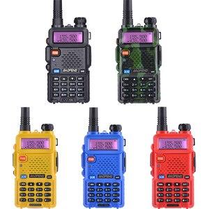 Image 2 - Baofeng UV 5R Walkie Talkie UHF VHF Jagd Radio Baofeng UV 5R Ham Radio Station Handheld Cb Radio Comunicador Transceiver UV5R