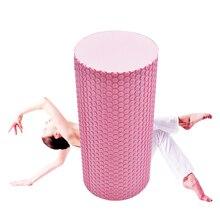 High Density Floating Point EVA Yoga Pilates Fitness Gym Foam Roller Massage Pink 410052