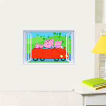 Buy peppa pig wall decal and get free shipping on AliExpresscom