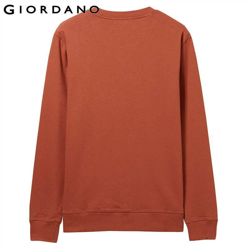 Giordano Men Sweatshirt Solid Pullover Sweatshirt Men Long Sleeve Fashion Terry Mens Clothes Sudadera Hombre Moleton Masculino 3