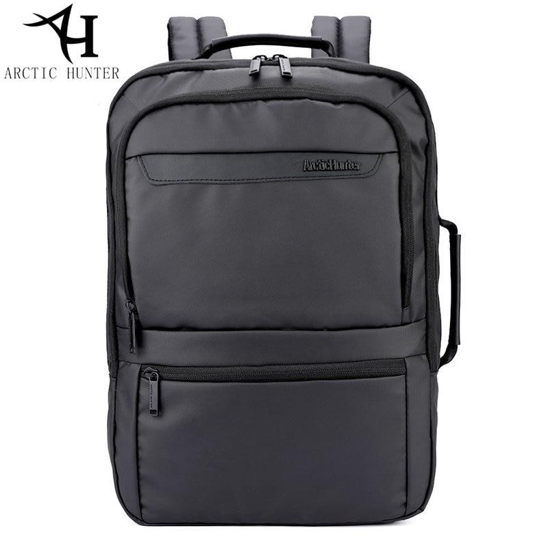 ARCTIC HUNTER 17 inch High Backpacks Men 15.6 inch Laptop Backpack External Backpack For Men Male Waterproof Bag travel Rucksack arctic hunter 2018 usb charging waterproof backpack men 15 6 inch laptop backpacks travel bag