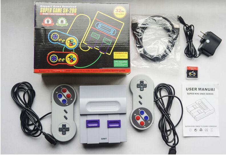 SchöN Hdmi Hd Heraus Super Classic Game Konsole Mit Supergames Und Sega Spiele 32bit Unterstützung Hinzufügen Spiele Sparen Spiel Fortschritte Elegant Und Anmutig Videospiele Videospielkonsolen