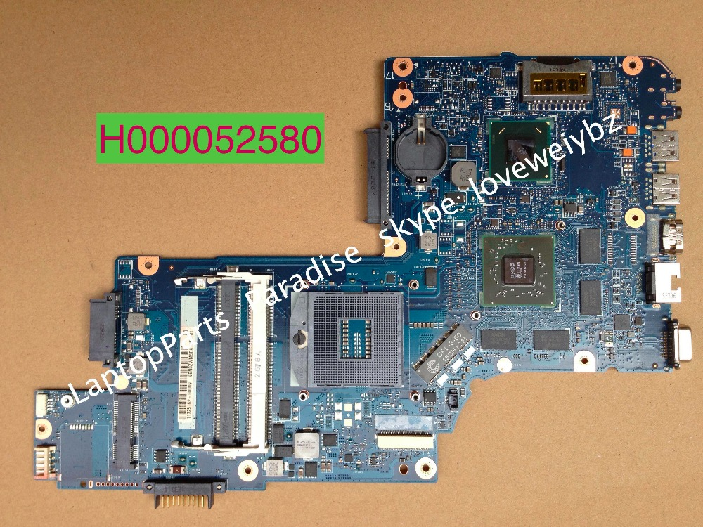 H000052580 motherboard For Toshiba Satellite C850 L850 Notebook PC Main board with ATI 7670M GPU
