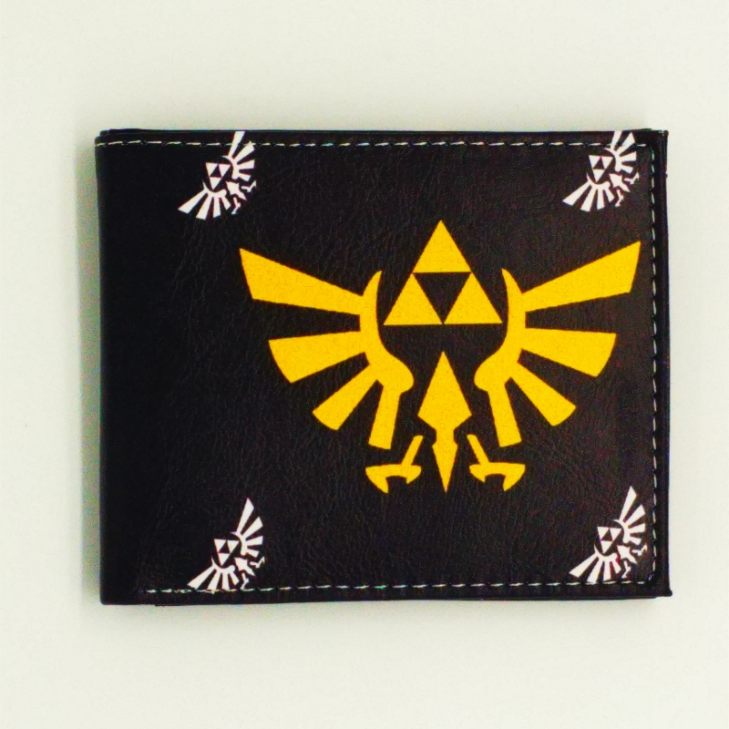 new arrive lovely kids zipper design Zelda wallet pu cion purse the game theme wallets god of war dollar price with cion zipper anime cartoon wallet doctor who adventure time jack zelda and minions purse three fold wallets dollar price