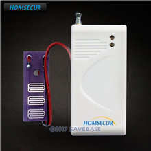 HOMSECUR 433MHz Wireless A7 Water Instrusion Sensor For Home Security Alarm System