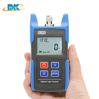TL512 Optical Light Source Laser Source 850/1300nm with FC (SC ST LC ) connector power meter, Fiber optic tester