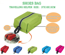4 Colors Waterproof Portable Travel Tote Toiletries Laundry Shoe Pouch Storage Bag