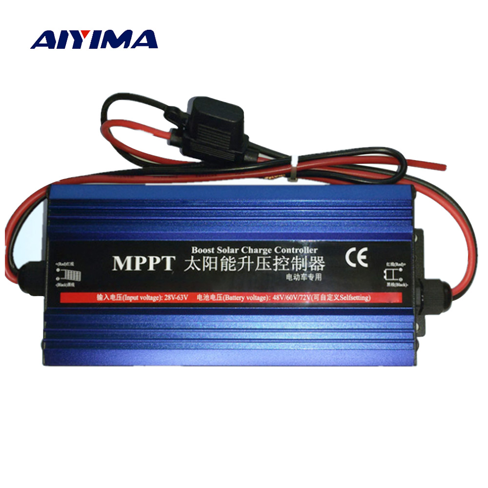 Aiyima Mppt Boost Solar Charge Controller Charger 48v 60v 72v Car Converter With Diy Storage Battery Charging Voltage Regulator Current 600w In Cells From Consumer