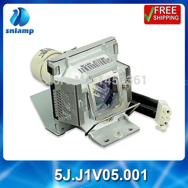 ФОТО Alibaba aliexpress cheap  replacement  projector lamp bulb 5J.J1V05.001 for MP525 MP525ST  MP575 MP525P MP525V