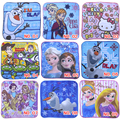 Cartoon Anna Elsa Baby Bath Towel 100%Cotton Qulik Dry Baby Face Hand Washer Towel Soft Infant Wipes Wash Cleaner Handkerchief