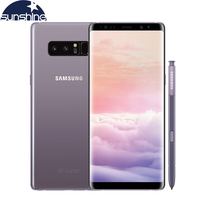 Original Samsung Galaxy Note 8 LTE Mobile Phone 6 3 12MP 6GB RAM Dual Back Camera