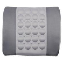 Акция! Серый автомобиль задний Поясничный осанки поддержка электрические подушка для массажа 12 В