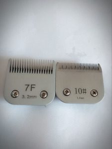 Image 1 - Professional pet clipper A5 blade 10#+7F fit most Andis and Oster clippers