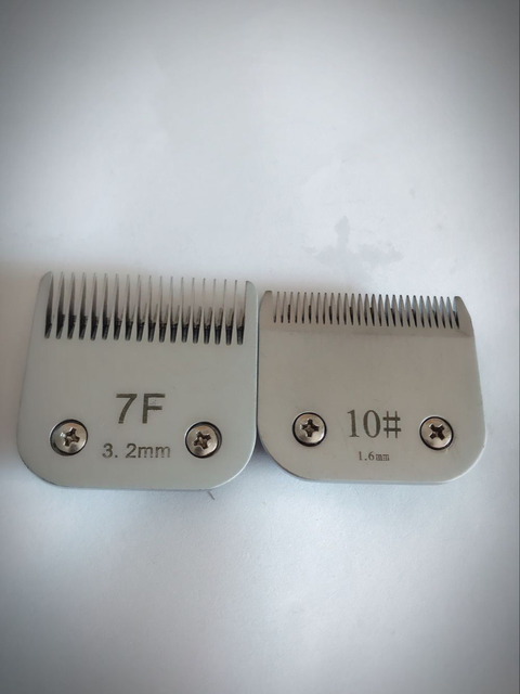 Professional pet clipper A5 blade 10#+7F fit most Andis and Oster clippers