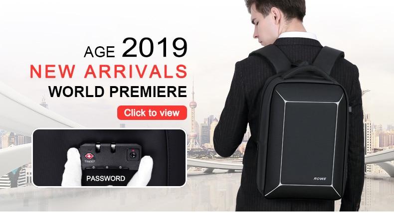 da9093a16164 FENRUIEN USB Solar Powered Charge Backpack for Men Women Laptop ...