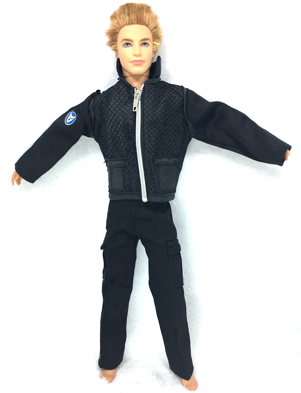 NK Authentic Prince Garments Fight Police Uniform Cop Outfit For Barbie Boy Male Ken Doll For Lanard  1/6 Soldier  Finest Reward 040