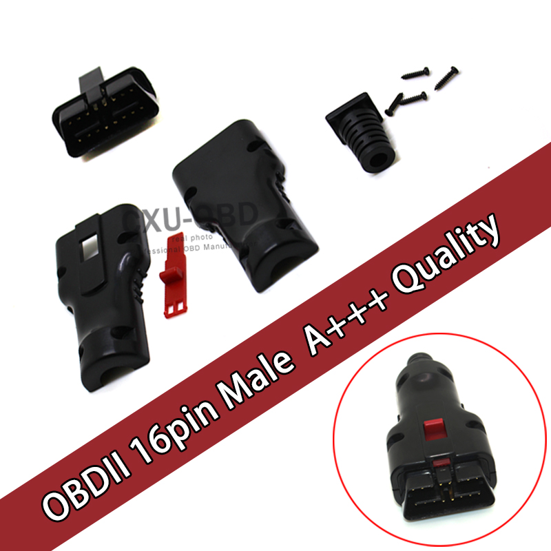 Free Shipping 16Pin OBD2 Connector J1962m 24v A+++ Quality