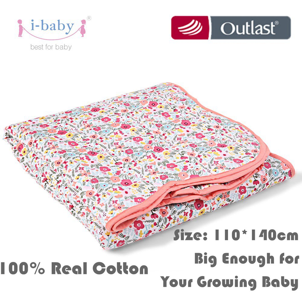 i-baby baby bedding Newborn Blanket Infant Baby Duvet Secret Garden 100% Cotton Crib Bedding Quilt Cot Machine Washable 100% mulberry silk pure naturals blanket quilt bedclothes duvet filling for winter summer king queen twin size white red color