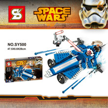 SY500 Star Wars Space Wars Clone Troopers Spacecraft Minifigures Building Block Minifigure Compatible with Legoe Brick Toys