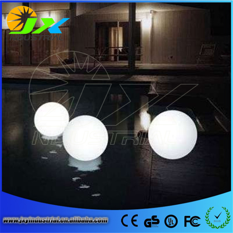 20cm rechargeable waterproof RGB floating led pool balls JXY-LB200