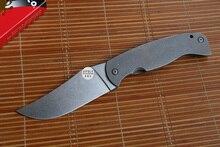 JUFULE Yidu Große SPYDER FARID-K2 Titan griff CPM10V Klinge Klappmesser Küche Outdoor Survival fruit Pocket EDC Werkzeuge