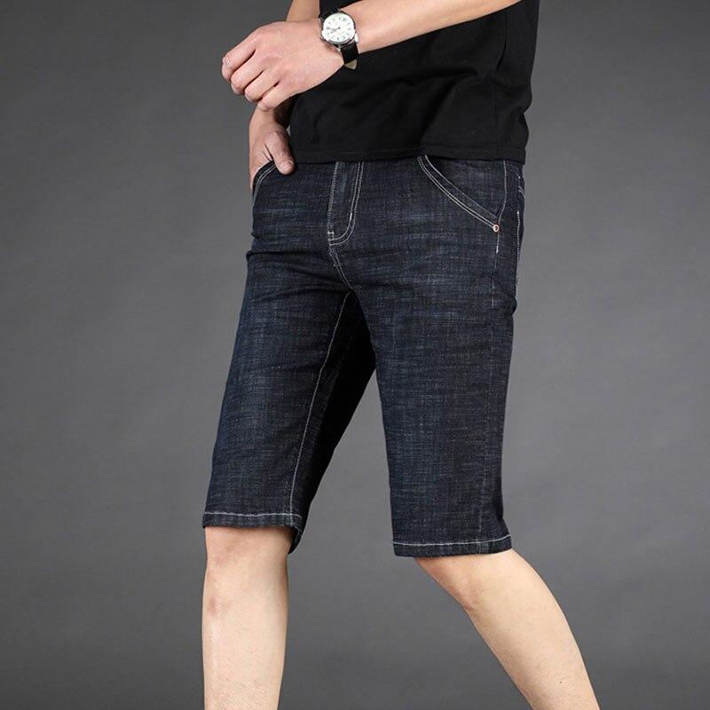 City Class 2018 Mens Summer New Leisure Wild Loose Beach Shorts Regular Length Bermuda Masculina Plus Size Jeans Men Shorts 3303