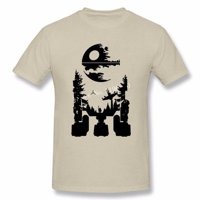 2018 New R2D2 Star Wars T Shirt For Men novelty Style Tees Shirt ...