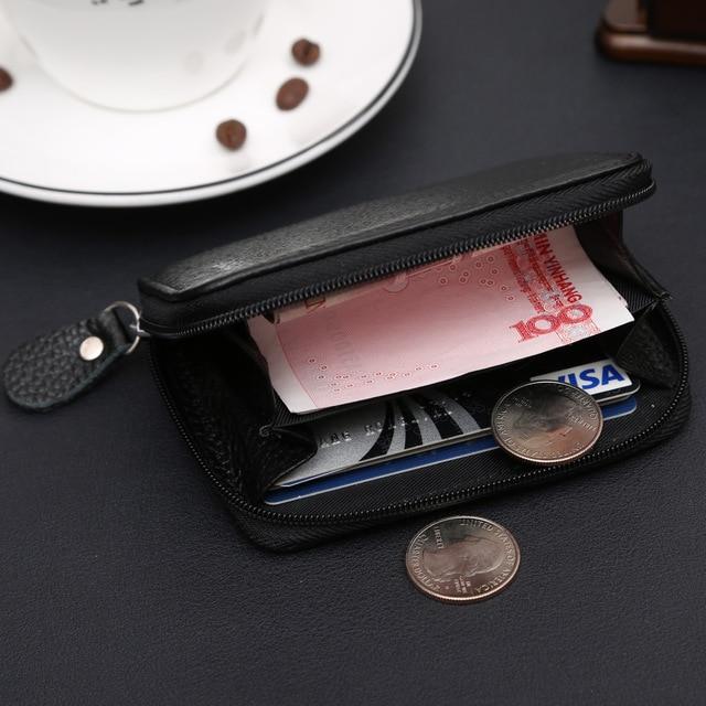 With Coin Bag Zipper Mini Wallets 2018 New Famous Brand Men Women Purse Thin Wallet Coin Purses Wallet carteira feminina 2