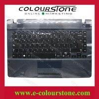 Envío libre BR Brasil teclado caso de la Cubierta para Samsung NP275E4E NP270E4E Top case Palmrest Touchpad teclado 9Z. N8YSN. 01E