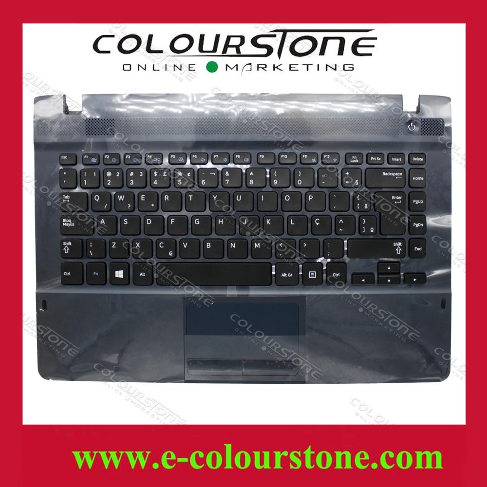 Free shipping BR Brazil teclado Cover case for Samsung NP270E4E Top case Palmrest Touchpad NP275E4E keyboard  9Z.N8YSN.01E russian keyboard for samsung q330 np q330 ru laptop keyboard palmrest touchpad cover ba75 02685d ba75 02671c