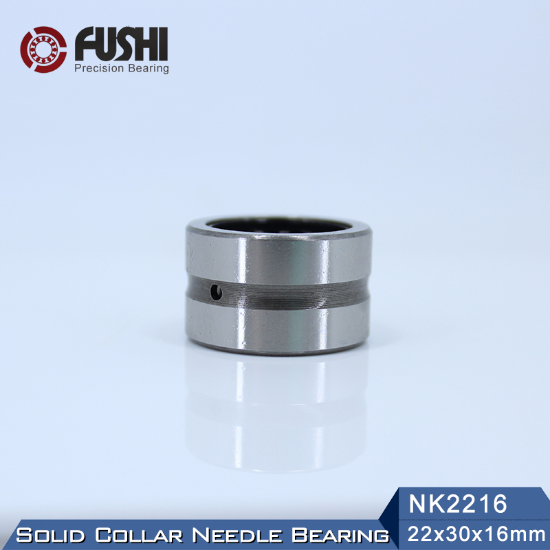 NK22/16 Bearing 22*30*16 mm ( 1 PC ) Solid Collar Needle Roller Bearings Without Inner Ring NK22/16 NK2216 Bearing