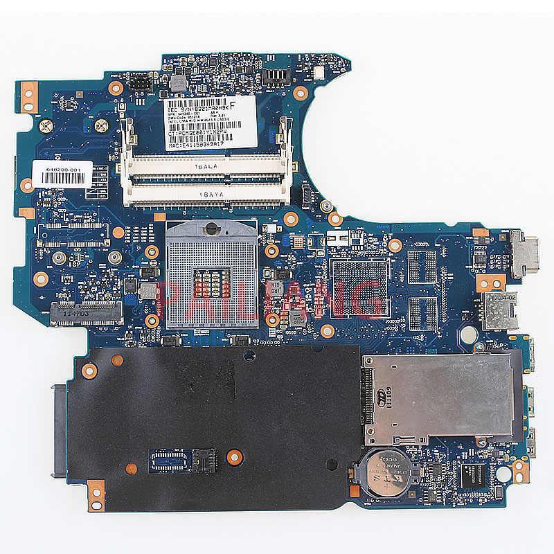 Placa-mãe do portátil para hp probook 4530 s computador mainboard 848200-001 848200-501 completo tesed ddr3