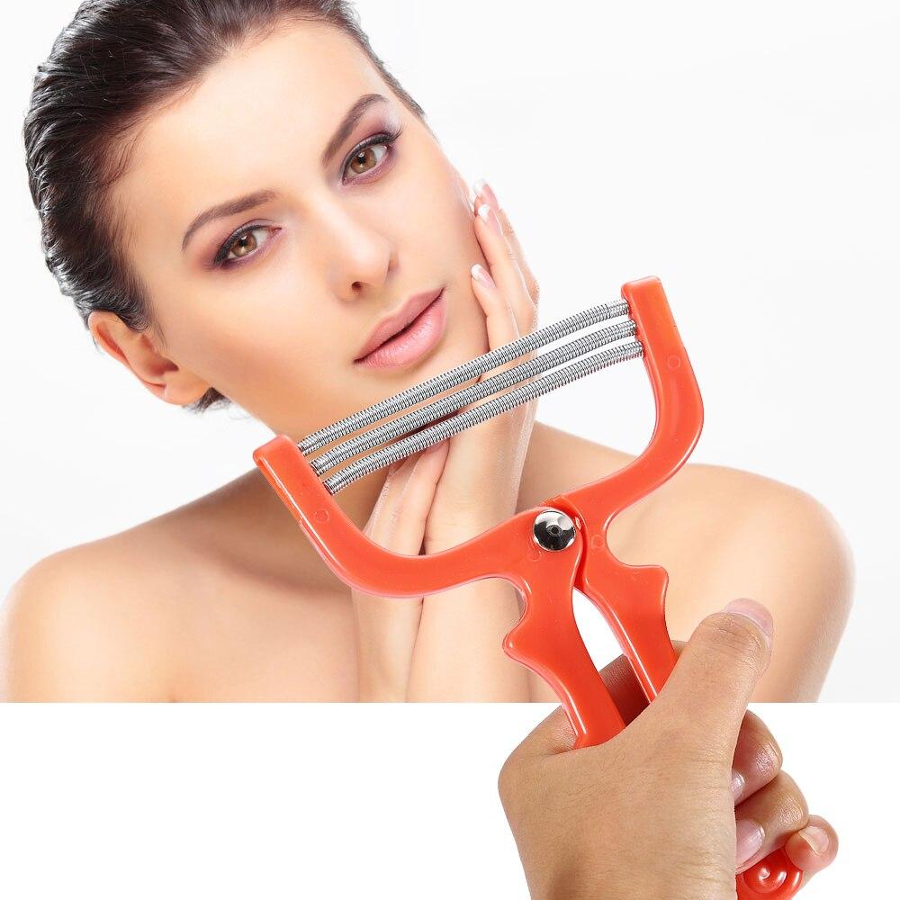 Women 1pcs Fashion Handheld Manual Face Hair Removal Threading Beauty Female Epilator Depilatory