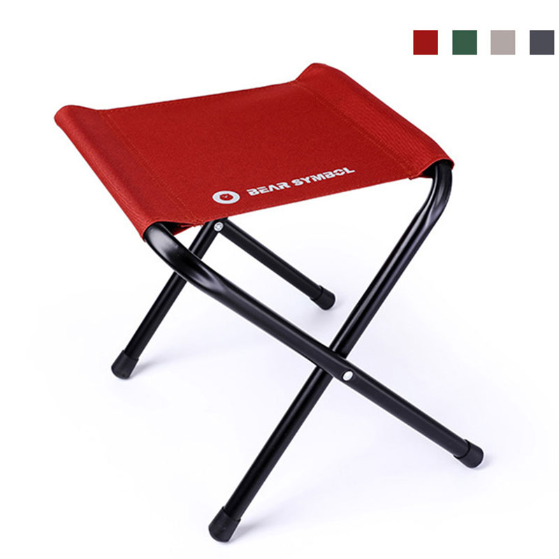 Solid Lightweight Garden Chairs Agile Outdoor Stable Portable Stool Fishing Folding Camping Chair Train Travelling Ultralight