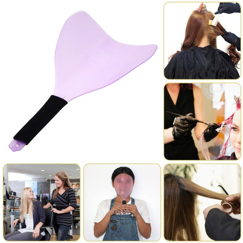 Blue Colorful Soft And Antislippery Styling Tools Hair Care & Styling Sweet-Tempered Barber Salon Hairdressing Hairspray Mask Shield Face Eyes Protector