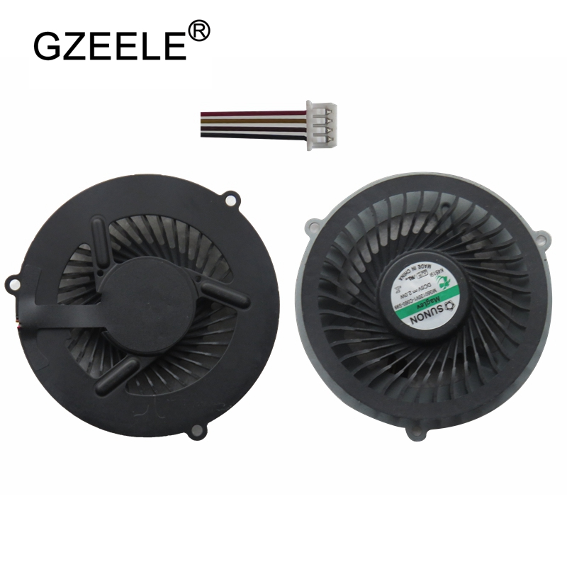 GZEELE New Laptop CPU Cooling Fan For LENOVO Y570 Y570A Y570N Y570P Cpu Fan DC5V 2W, Brand New Y570 Y570A