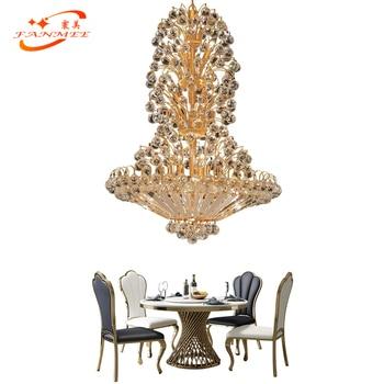 Traditional Crystal Chandelier Lighting LED K9 Crystal Hanging Lamp Decorative Light Restaurant Living Dining Room Chandeliers