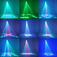 High Quality Sound Active 64 LEDs RGBW Light Disco Light Club Party Show Hundreds Of Patterns