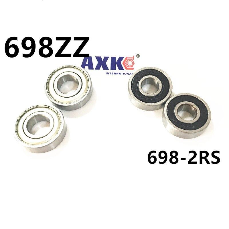 motor bearing thin wall bearing 698 2RS 698ZZ  698-2RS ABEC3 8x19x6 mm 6700rs 6700 2rs 6700 2rs 6700 rs 61700 2rs 10x15x4mm thin section bearing