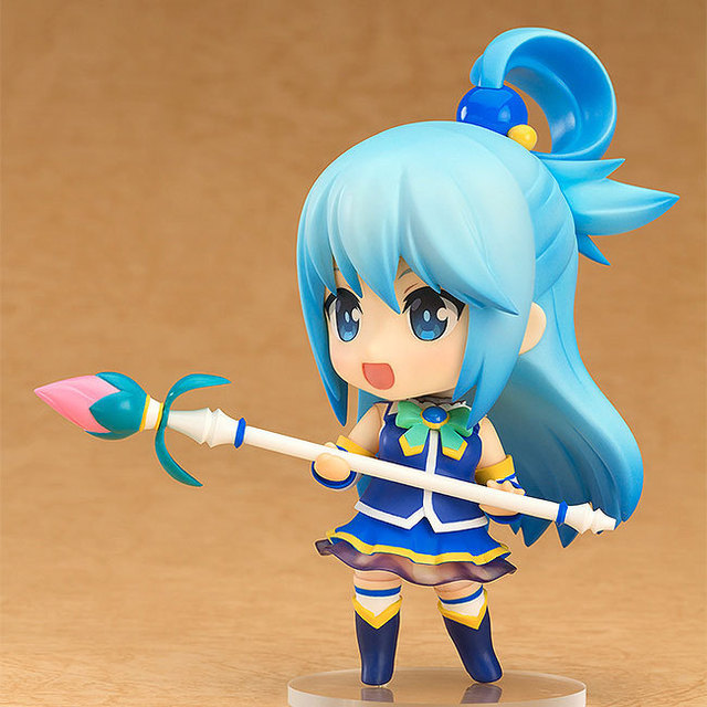 KonoSuba: God's Blessing on this Wonderful world! Aqua Q ver. 630#  Nendoroid Action Figure Collectible Model Toy 10cm 3