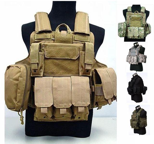 898376f6673 CIRAS MAR Combination Thick Tactical vest outdoor gear amphibious cs  Counterterrorism Military WG Protective combat gear