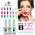 Saviland 15ml gelpolish nail gel polish soak off UV gel nail vernis Colors gel lacquer French manicure kit High quality