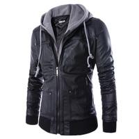 Mens Leather Jackets And Coats Casual Men Jacket Veste Homme Coat Autumn Manteau Homme Abrigos Y Chaquetas Hombre Hot Sale #002