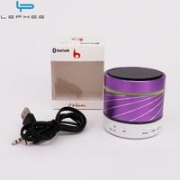 Lephee S07U Subwoofer Wireless Bluetooth Speaker LED Loudspeaker Music Boombox Speaker For Xiaomi 6 Oneplus 5