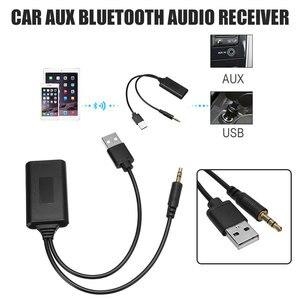 Image 3 - Voor Bmw E90 E91 E92 E93 Bluetooth Ontvanger Autoradio 3.5 Mm Jack Plug AUX IN Aux Kabel BT5.0 Muziek Bluetooth adapter