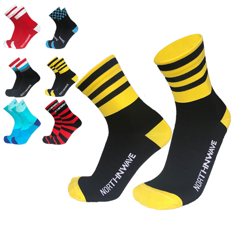 New Sports Cycling Socks Mountain Breathable Road Bicycle Nylon Bikes Compression Socks