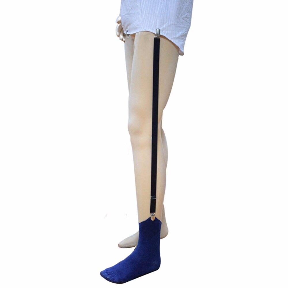 Uniform Business Shirt Stays Mens Suspenders Men Wear Shirt Holder Gentleman Braces Adjustable Tirantes Hombre Suspender Belt