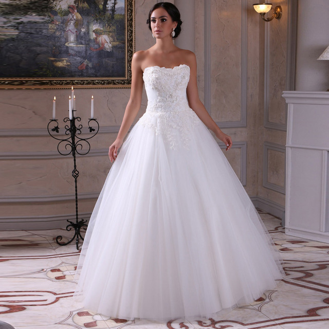 gorgeous sweetheart vintage wedding dress 2015 vestido de novia